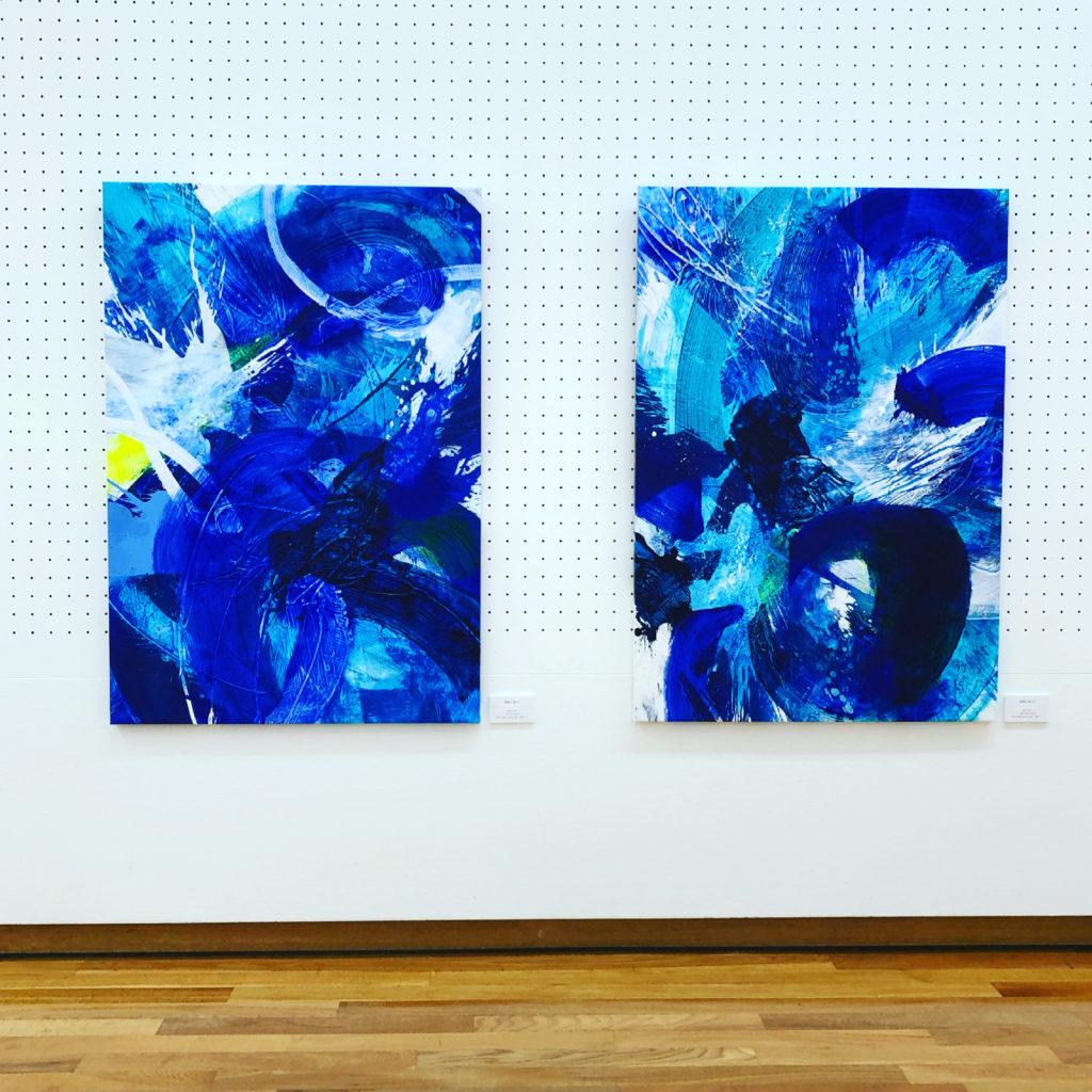 passionate blue_kumiko suzuki works_2021